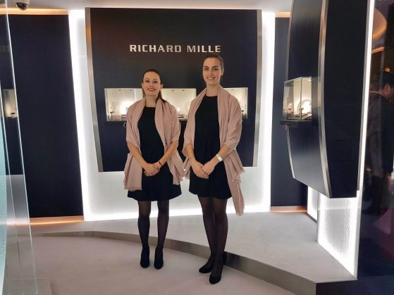Soirée VIP Richard Mille janvier 2017-genève-Agence d'hôtesses Just W